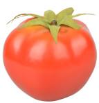 Esschert Design Tomate aus Kunststoff, 7,6 x 7,3 x 6,3 cm, Dekoration, Deko-Gemüse, naturgetreues Dekolebensmittel