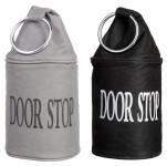 Esschert Design Türstopper, Türhalter, mit Metallring, Farben: schwarz/grau, farblich sortiert, Lieferumfang: 1 Stück