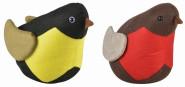"""Esschert Design Türstopper """"Vogel"""", aus dem Material """"Filz und Sand"""", 26,6 x 14,0 x 19,4 cm"""