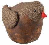 """Esschert Design Türstopper """"Vogel"""", aus den Materialien """"Filz, PU und Sand"""", 26,6 x 14,0 x 19,4 cm"""