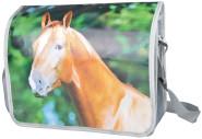 Esschert Design Umhängetasche Pferd aus Polyester und PP Gewebe, 38,0 x 13,0 x 30,0 cm