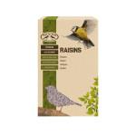 Esschert Design Vogelfutter getrocknete Rosinen 4-Jahreszeiten 600g, Ganzjahres Vogelfutter
