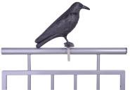 Esschert Design Vogelschreck Krähe, 12,9x36,2x22,2 cm