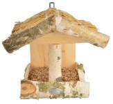 Esschert Design Wandfutterhaus, Vogelhaus aus Birke