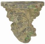 """Esschert Design """"Wandkonsole"""" Moos, aus dem Material """"Terracotta"""", 27,4 x 14,7 x 26,6 cm"""