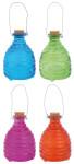3 Stück Esschert Design Wespenfalle, Insektenfalle, zum Aufhängen, klein, 1 Stück, sortiert, ca. 9,5 cm x 9,5 cm x 14 cm