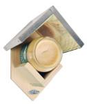 Esschert Vogelfutterhaus mit Erdnussbutter, Vogelhäuschen, spezielle Erdnussbutter für Wildvögel, Maße: ca. 20 x 14,5 x 13 cm