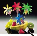 Fackelmann Palmenpicker und Frucht, Snack-Picker, 21 cm