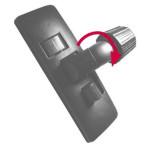 Fackelmann Staubsauger-Bodenbürste Adapter Durchmesser 30 und 32 mm