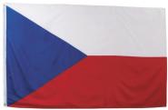 Fahne, Tschechische Republik, Polyester, Größe 90 x 150 cm