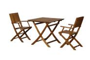 FloraSun® Gartenmöbel Set Beach, 2 Sessel, 1 Tisch
