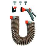 GARDENA Spiralschlauch-Set 10m m.Impulsbrause +Systemteile