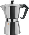 Gnali & Zani BRASIL Coffee maker, Espressokocher für 3 Tassen Induktion, Alu
