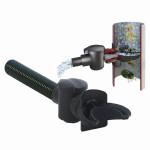 GRAF Regensammler Speedy, Fallrohrfilter, Regenwassersammler, DN Fallrohrgrößen: 70-100 mm, in schwarz