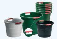 """GRAF Universalkübel """"Toni"""", Gartenkübel, Garteneimer, mit Griffen, stapelbar, in grün, verschiedene Fassungsvermögen zur Auswahl"""