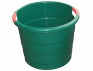 """GRAF Universalkübel """"Toni"""", Gartenkübel, Garteneimer, 70l, mit Griffen, Ø 410 mm unten, Ø 490 mm oben, stapelbar, in grün"""