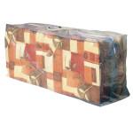 greemotion Schutzhülle für Auflagen (Tragetasche), Wetterschutzhülle, Gartenhülle, Abdeckung, 125 x 50 x 32 cm, mit PE Bändchengewebe