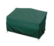 greemotion Schutzhülle für Gartenbank, Wetterschutzhülle, Gartenhülle, Abdeckung, 160 x 78 x 80 cm, aus Polyester, in grün