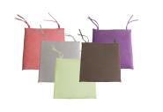 greemotion Sitzkissen ''Alcastyle'', Stuhlkissen, Sitzpolster, klein, 40 x 40 x 4 cm, verschiedene Stückzahlen und Farben zur Auswahl