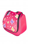 Grüezi bag Kinder Kulturtasche Washbag Kids Butterfly, im Schmetterling Design, 20 x 20 x 6 cm