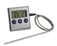 GSD Digital-Bratenthermometer mit Timerfunktion, 6,5 x 7 x 2 cm