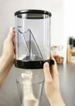 """GSD Kaffeedosierer """"DOSO"""", aus Kunststoff, Ø 12 x 19 cm, transparent/schwarz"""