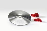 GSD Lochscheibe aus Edelstahl, mit 1 mm Lochung, für Passiermaschine, Ø 12 x 1,8 cm