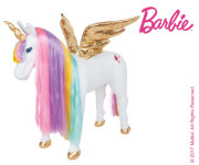 Happy People Barbie Einhorn mit Sound, Regenbogen-Mähne