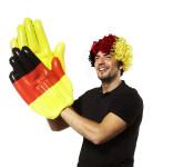 Happy People Deutschland Perücke, universal Größe