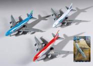Happy People Flugzeug, Spielflugzeug, sortiert
