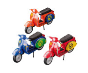 Happy People Motorroller, ca. 11 cm, sortiert, 1 Stück