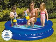 Happy People Pool Galaxy, in blau