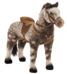 Happy People Spielzeug Pferd Apfelschimmel, mit Sound, Sattelhöhe ca. 52 cm