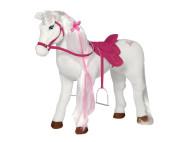 """Happy People Barbie """"MAJESTY"""" Plüschpferd, Spielzeug Reitpferd, Mattel Barbie-Pferd, mit Sound, 100Kg Tragkraft"""