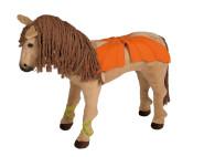 """Happy People Spielzeug Pferd - """"Sanjeela's Pferd"""", Bayala® by Schleich, mit Sound + 2. Sattel in braun mit Steigbügel und Zaumzeug"""