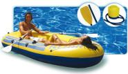 Happy People Sportboot 230er, ca. 230 x 135 cm, belastbar bis ca. 160 kg