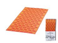 Happy People Strandmatte, Liegematte, Badematte, 180 x 90 cm, orange