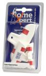 homeXpert 3er Set Verschluss-Clips, Verschlussklammern, Tüten-Klippverschluss, Beutelverschluß-Clip, 1 x 10 cm und 2 x 6 cm