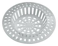 homeXpert Abfluss-Sieb 70 mm weiß, Kunststoff