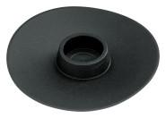 homeXpert ABFLUSS-STOPP schwarz, Ø 95 mm