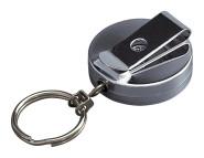 homeXpert Gürtel-Clip Durchmesser 40 mm, Kette ausziehbar 40 cm