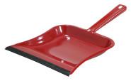 homeXpert Metallkehrschaufel beschichtet, mit Gummilippe