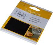 homeXpert Rutschstopper SOFT-PAD eckig 100 x 100 mm, Inhalt: 1 Stück , Höhe: 3,0 mm