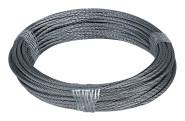 homeXpert Stahlseil 2 mm 10 m lang