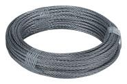 homeXpert Stahlseil 3 mm 10 m lang