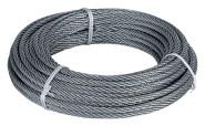 homeXpert Stahlseil 4 mm 10 m lang