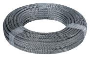 homeXpert Stahlseil 4 mm 20 m lang