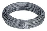 homeXpert Stahlseil ummantelt 2-3 mm 10 m lang