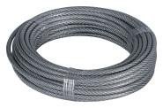 homeXpert Stahlseil ummantelt 3-4 mm 10 m lang