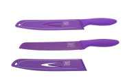 homiez Brotmesser ColourCut 20 cm purple